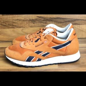 Reebok classics suede athletic shoes